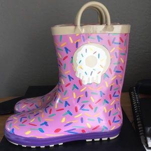 Shoes - Purple Never Worn - Kids RainBoots!  ☔️🍩💝
